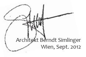 Architekt Berndt Simlinger